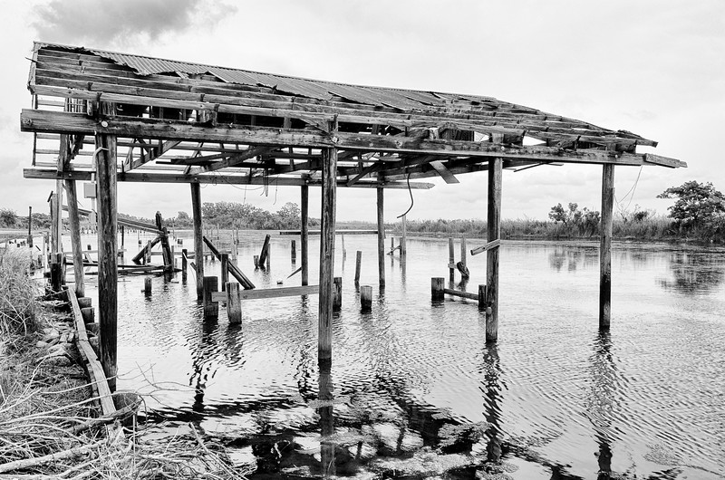 """""""Boathouse""""  (photography) by Les Schmidt"""