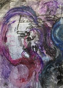"""The Pond"" (mixed media) by Amanda Hansen"