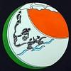 """""""One Horned Rhino in water"""" (marker) by Yogendra Rmodak"""