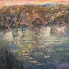 """Childhood"" (oil on canvas) by Mariia Chernyshova"