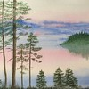 """Silence"" (watercolor) by Olga Fedorovskaya"