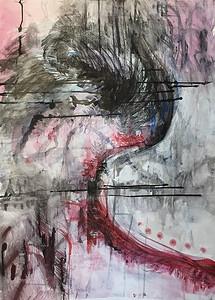 """""""Ratnākara"""" (mixed media) by Amanda Hansen"""