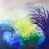 """""""Undertow"""" (acrylic on canvas) by MK Wynn"""