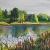 """""""Sunny Day"""" (watercolor) by Linda Vinogradova"""