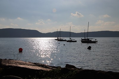 """Ossining Harbor"" (photography) by Kathy Brady"