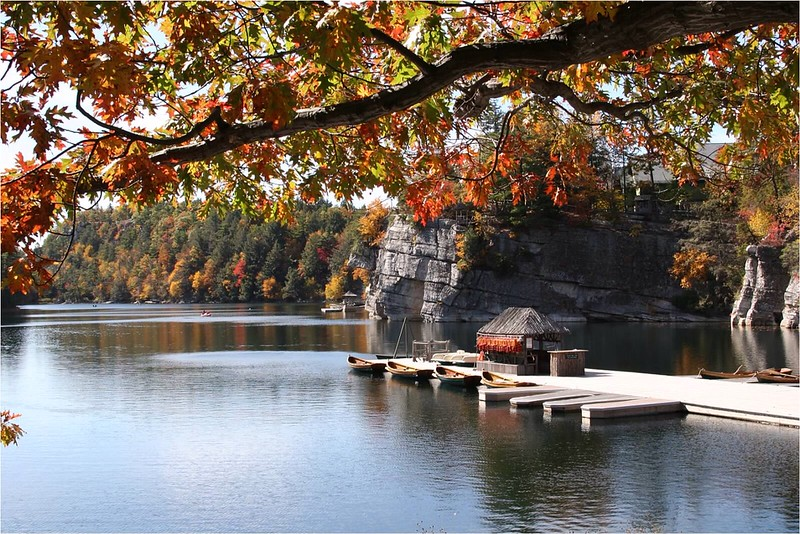 """Lake Mohonk"" (photography) by Kathy Brady"