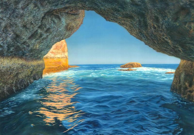"""""""Dream"""" (oil on canvas) by Dmitriy Bordunov"""