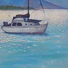 """The Wayward Sailor at Rest"" (acrylic) by Joy Parks Coats"