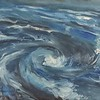 """Whirlpool"" (oil on canvas) by Anastasia Shchapova"