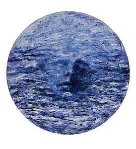 """Lake spirit"" (acrylic on canvas) by Irina Artiomchik"