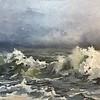 """Storm"" (oil) by Gloria Ran"