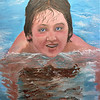 """""""Summer Break"""" (oil on canvas) by Crista Bromley"""