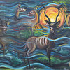 """""""Kudu on the Water"""" (oil) by Codyrose Bowden"""