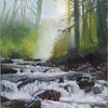 """""""The Crystal River of Your Soul"""" (oil on canvas) by Alexandra Yaresko"""
