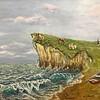 """""""Coast"""" (oil on paper) by Svetlana Nasybullina"""