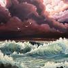 """""""Fury"""" (acrylic on canvas) by Shanan Haislip"""