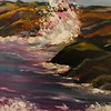 """""""Crashing Wave"""" (oil) by Stephanie Navon-Jacobson"""