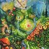 """""""Earth Mother"""" (acrylic) by Rae Grondahl"""