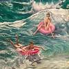 """Water"" (oil on canvas) by Svetlana Nasybullina"
