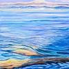 """Dungeness Lagoon"" (oil on canvas) by John Hemmen"