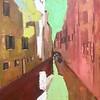 """Venice Breath in"" (oil on canvas) by Diana Anna Cine"