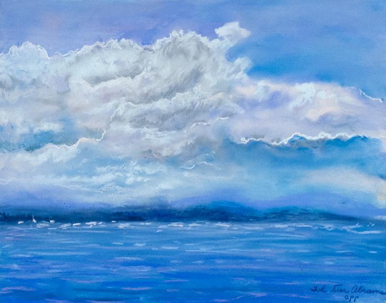 """Wonderful Day in Maine"" (pastel) by Tobi Abrams"