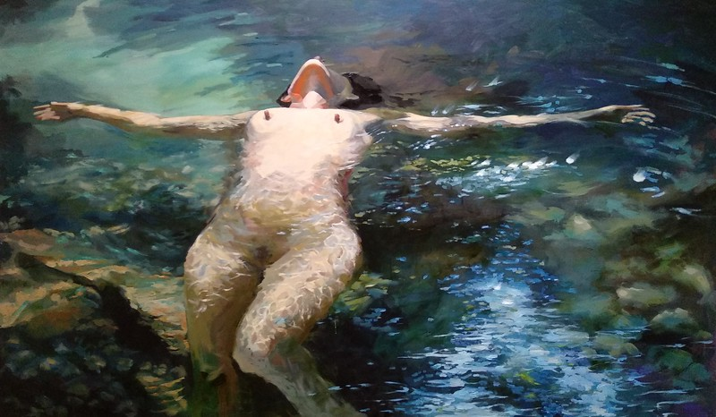 """""""Things Will Go Well, I Do Believe"""" (oil on canvas) by Alexandra Yaresko"""