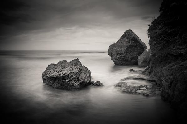 Surfer's Beach Rocks