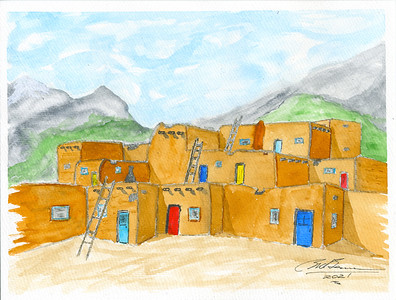 Adobe Pueblo