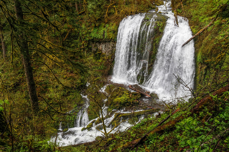 Upper Mccord Creek Falls