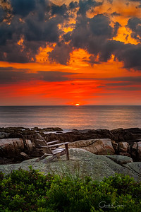 Sunrise at Biddeford, Maine