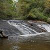 Sliding Rock Falls, Highlands Area, NC