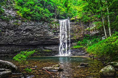 Cloudland Canyon Waterfall