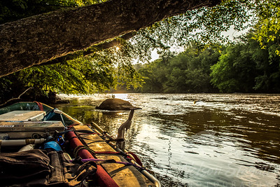 Sunrise on the French Broad River