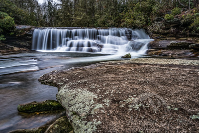 French Broad Falls, Balsam Grove NC