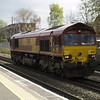 66176 working light engine on 0Z15 Wembley - Bescot
