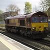 66176 working light engine on 0Z15 Wembley - Bescot