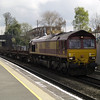 66082 on 6V92 Corby - Margam steel empties