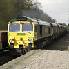 66554 heads into the sun with 4H70 Rugeley Power Station - Daw Mill Colliery