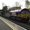 66183 on 4G31 Hams Hall - Bescot intermodal flats