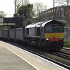 66422 heads towards Wales with 4V38 Daventry - Wentloog Tesco train