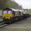66122 double heads with 59203 which was on its way to Toton for a repaint on 6D44 Bescot - Toton engineers