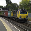 70001 heads the 4O14 Birch Coppice - Southampton