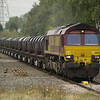 Nice to see a full steel train! 66192 heads the 6M96 Margam - Corby steel coil