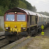 66084 passes on 4M11 Washwood Heath - Peak Forest
