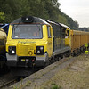 70005 heads through on a full rake of 70 5992s on 6U76 Crewe Basford Hall - Mountsorrel