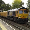 An added bonus for the day was 66709 heading the 6O96 Mountsorrel - Eastleigh VQ