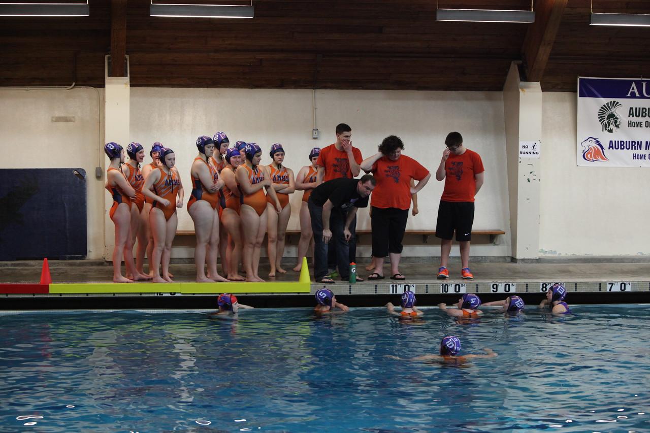 2015 Water Polo -Girls AMHS vs Tahoma - May 5