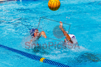 Brandeis vs Warren Water Polo Boys-8287