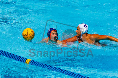 Brandeis vs Warren Water Polo Boys-8284